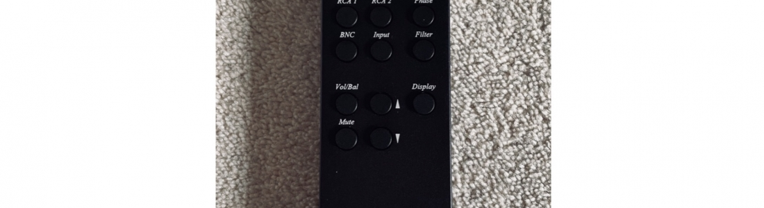 DCS remote control (new old stock) (sold)