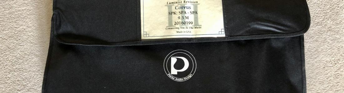 Purist audio design Corvus speaker cable