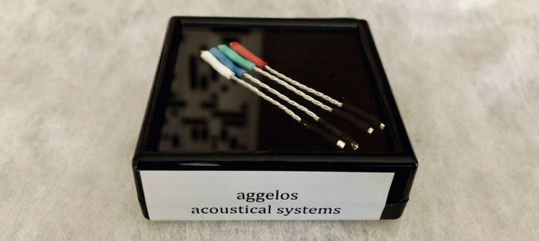 Acoustical Systems Aggelos silver wires (new)